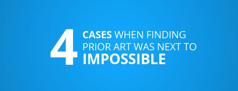 4 patent prior art examples