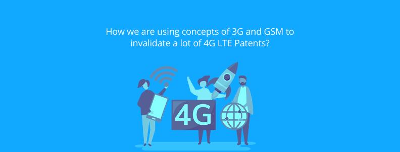 invalidate 4G LTE patents