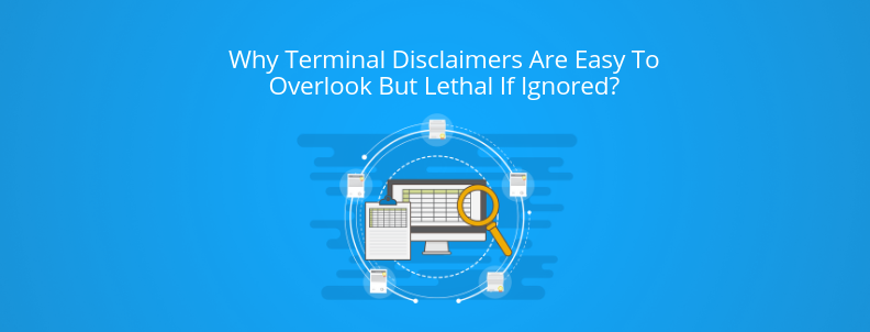 Terminal Disclaimer cover