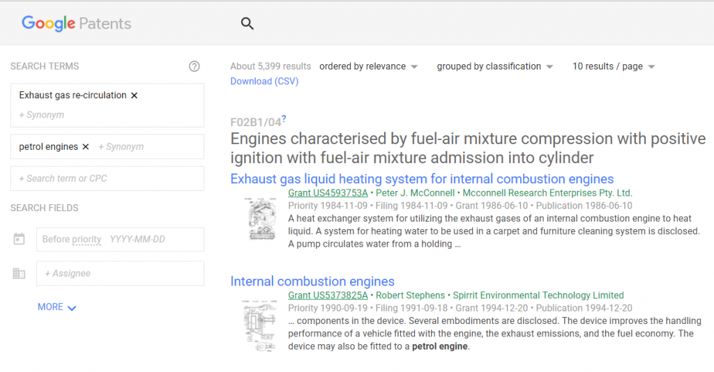 The Definitive Guide To Google Patents Search - GreyB