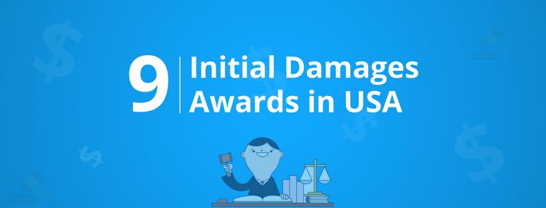 9 largest patent infringement damage awards