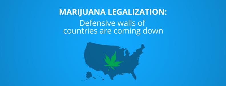 states that have legalized Marijuana