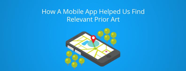 prior art in mobile app
