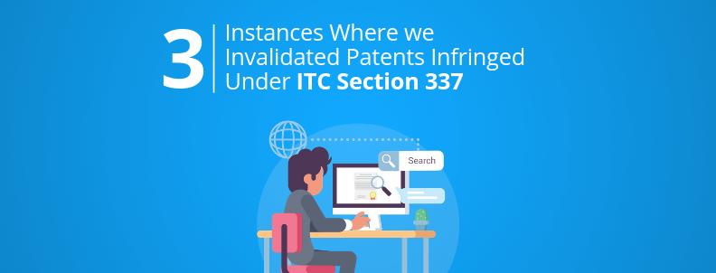 invalidate patent itc section 337