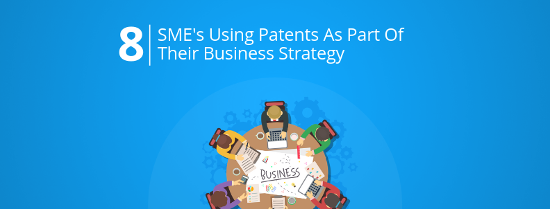 companies using patents as business strategy