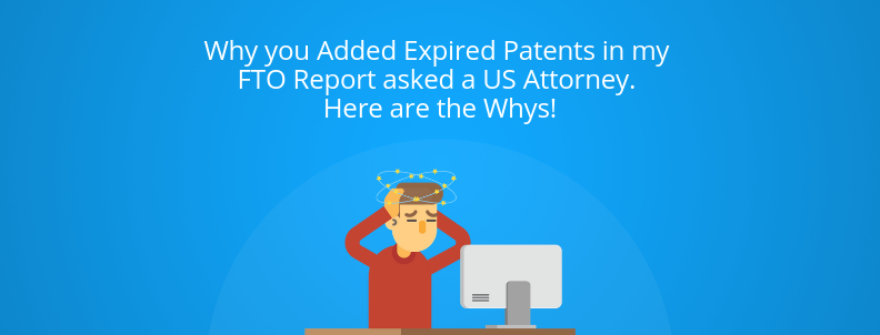 expired patents freedom to operate
