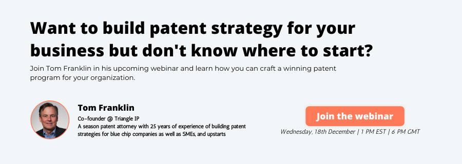 Build a patent strategy for your business