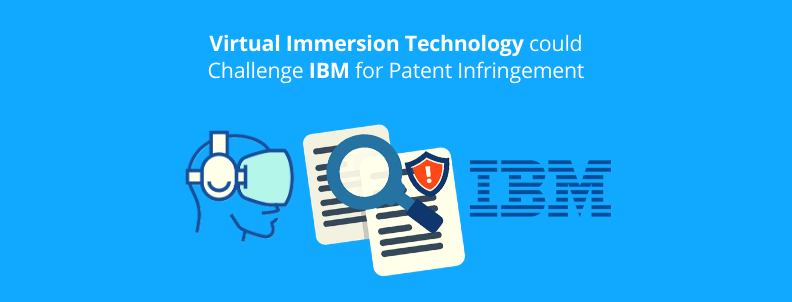 Virtual Immersion could make Money using Patent Infringement