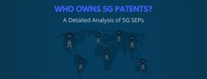5G patent landscape