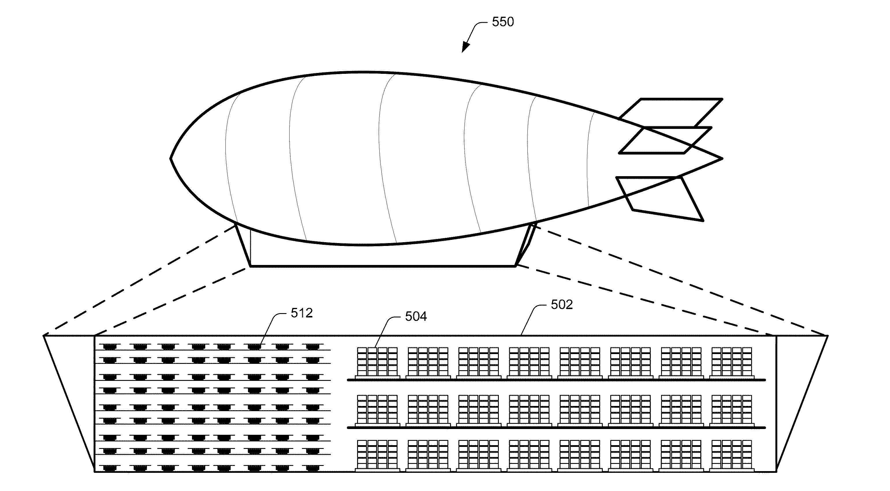 Amazon Airborne Fulfillment center Patent