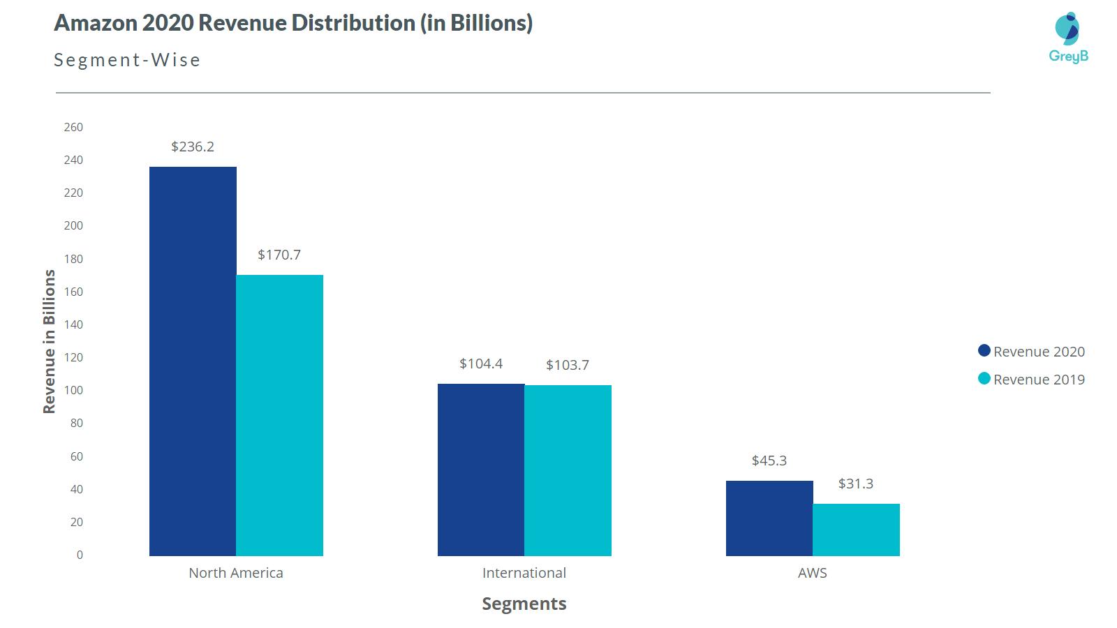 Amazon Segment Revenue 2020