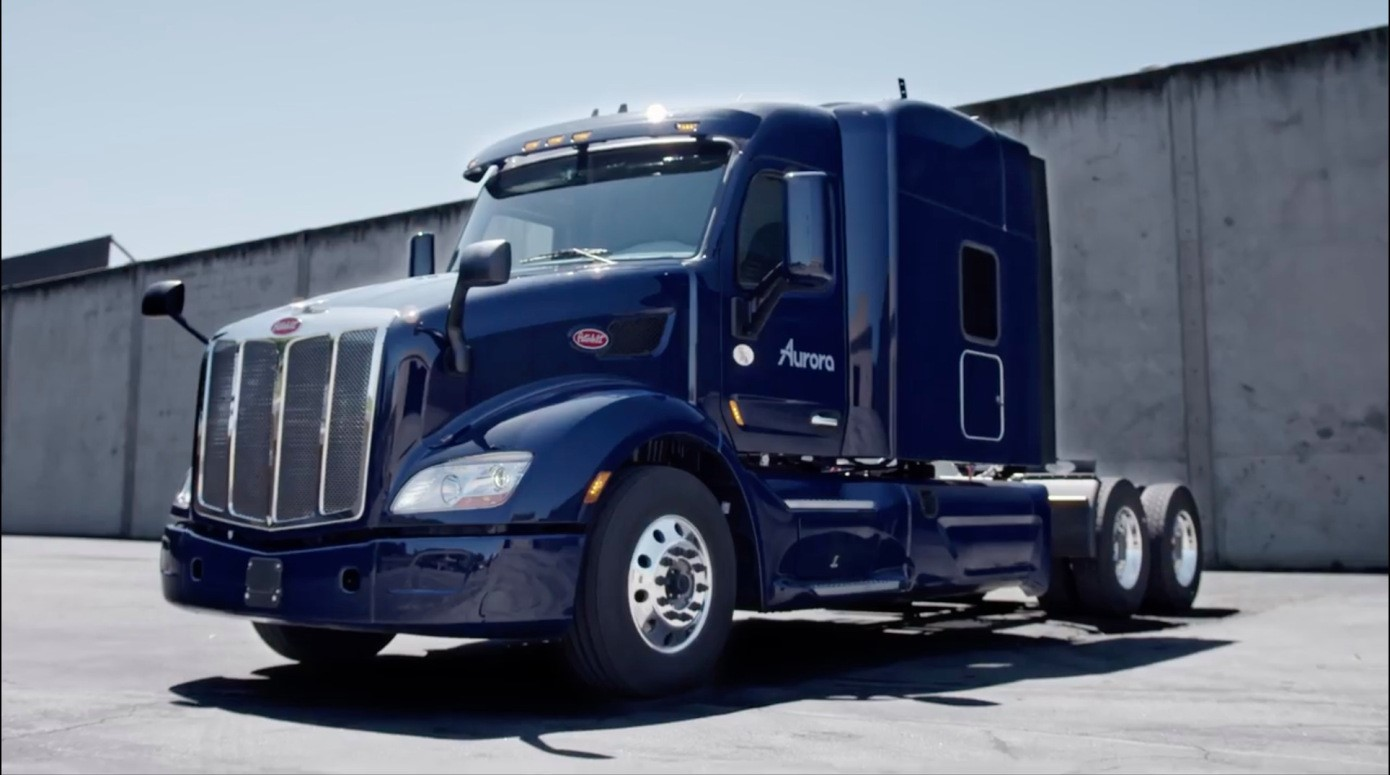 Aurora self driving truck