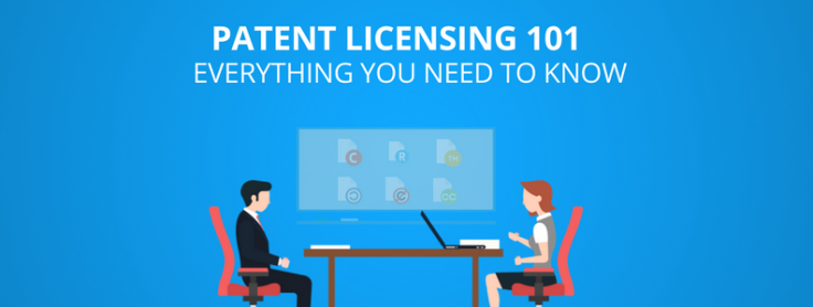 license a product without patent